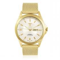 3280ee85eb9 Relógio Masculino Tempus Elite ZW20127H Gold Silver -