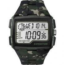 Relógio Masculino Timex Digital - Resistente à Água Cronômetro TW4B02500WW/N