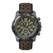Relógio Masculino Timex Expedition Tw4b01600ww/N 42mm Couro Marrom -