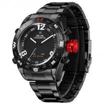 9dd43f0853b Relógio Masculino Weide AnaDigi Esporte WH-2310 Branco -