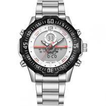 Relógio Masculino Weide Anadigi WH-6105 Vermelho -