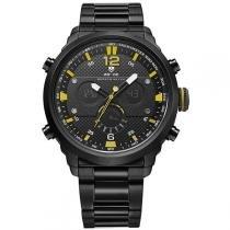 Relógio Masculino Weide Anadigi WH-6303 Amarelo -