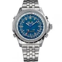 Relógio Masculino Weide Anadigi WH-904 Verde -