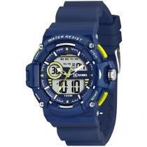Relógio Masculino X-Games Anadigi - Resistente à Água XMPPA152