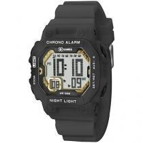 Relógio Masculino X-Games XKPPD006 Digital - Resistente à Água com Cronógrafo e Calendário