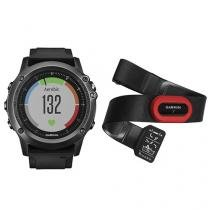 Relógio Monitor Cardíaco Garmin Fenix Saphira HR - Resistente à Água
