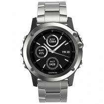 Relógio Monitor Cardíaco Garmin Multiesporte - Fenix Saphira Resistente à Água