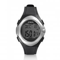 Relógio Monitor Cardíaco Touch Preto/Cinza ES094 - Atrio - Atrio