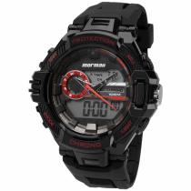 Relógio Mormaii Analógico e Digital Esportivo MOAD1134A/8R 46mm Preto - Mormaii