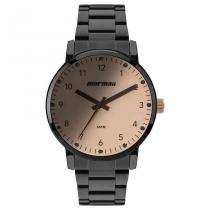 Relógio Mormaii Feminino Ref: Mo2035je/4j Casual Black -