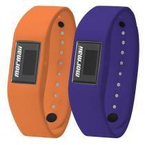 Relógio Mormaii Fit + Wristband Troca Pulseira MO3398A/8L -
