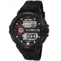 Relógio Mormaii Masculino Mo5000/8p, C/ Garantia E Nf -