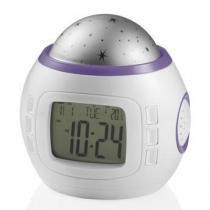 Relógio Multikids Com Termômetro Calendário Alarme e Projetor de Luz - BB200 - MULTIKIDS