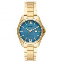 Relógio Orient Feminino Ref  Fgss1143 G2kx Casual Dourado - Orient d1f825f415