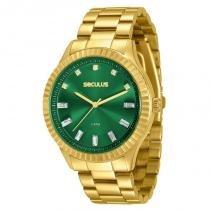 Relógio Seculus Feminino - 69507LPSVDS3 -