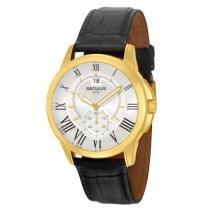 Relógio Seculus Masculino - 48062GPSTDC1 -