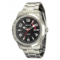 Relógio Seculus Masculino Long Life - 20327G0SVNA1 -