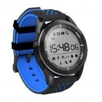 Relógio Smart Watch Bluetooth F3 Prova Dágua Azul - Shopping vila sônia