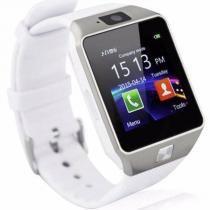 Relógio Smartwatch Dz09 Touch Bluetooth Gear Chip Branco - Oem