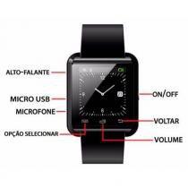 Relógio Smartwatch  Smart Watch U8 Bluetooth Android Ios Samsung Iphone Motorola LG - Mega page