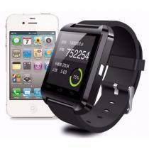 Relógio smartwatch u8 bluetooth para celular compatível android e iphone - U8