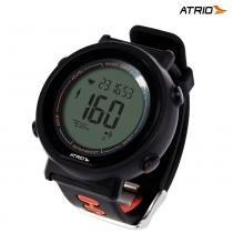 Relógio Sport Monitor Cardíaco Fortius Preto Com Cinta ES049  Atrio -
