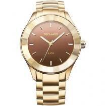 Relógio Technos Feminino Social Dourado Caixa - 4.4 - 2035LNG/4M - Technos