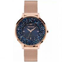 Relógio Technos Swarovski Elegance Analógico Feminino 2035MLE/4A -