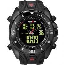 Relógio Timex Ironman Triathlon Dual-Tech 50laps Anadigi Masculino T5k405ww/Tn - Timex