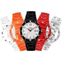 Relógio Unissex Champion Analógico - Resistente à Água Troca Pulseira CP30319B