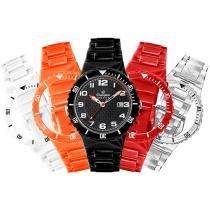 Relógio Unissex Champion Analógico - Resistente à Água Troca Pulseira CP30319T
