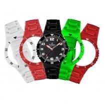 Relógio unissex champion troca pulseiras cp30119m / 69738 -