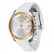 Relógio Unissex Orient Analógico MTSP1003 - Branco - Único -