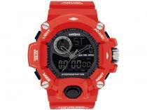 Relógio Unissex Umbro Anadigi - UMB-052-5 Vermelho