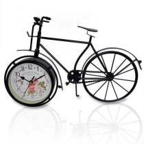 Relogio Vintage Modelo Bicicleta Retro De Mesa Para Casa - Braslu