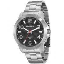 Relógios Masculino Seculus Analógico - Resistente à Água Long Life 28851G0SVNA1