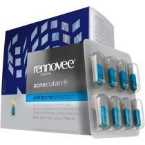 Rennovee Acnecutan - Antiacne Solution 32 Cápsulas - Nutrilatina