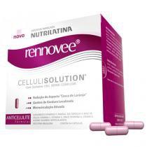 Rennovee Cellulisolution Nutrilatina - Suplemento Redutor da Celulite - 64 Cápsulas - Nutrilatina