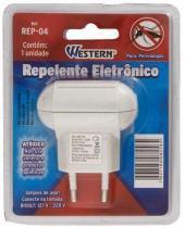Repelente Eletrônico Ultrassônico Para Pernilongos Bivolt Western REP-04 -