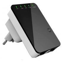 Repetidor Expansor De Sinal Rede Wireless Wifi 300mbps Rj45 Wps Preto - Mega page