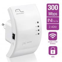 Repetidor Wireless 300 Mbps Multilaser - RE051 - Multilaser