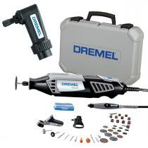 Retífica Dremel 4000 c/ 36 Acess. + 3 Acop. + 1 Acop. p/ Ângulo Reto 575 DREMEL -