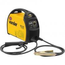 Retificador inversor de solda 200a bivolt monofásico lift arc para eletrodo e tig sem tocha riv222 - Vonder -