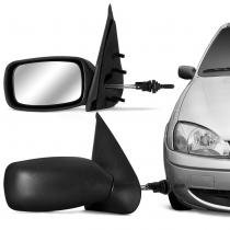 Retrovisor Fiesta 96 97 98 99 00 01 02 03 Preto com Controle - Cofran retrovisores
