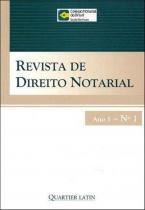 Revista de Direito Notarial - Ano 1 - Nº 1 - Quartier latin
