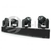 Ribalta Moving Beam 4x12W RGBW com 4 Cabeças - Bivolt - E-led Brasil