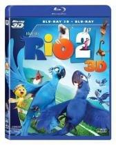 Rio 2 (Blu-Ray + Blu-Ray 3D) - Fox - sony dadc