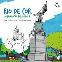 Rio de cor - monumentos para colorir - Jaguatirica