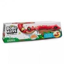 Robô Alive - Cobra  Vermelho - Dtc -