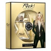Rock by Shakira Shakira - Feminino - Eau de Toilette - Kits de Perfumes - Shakira